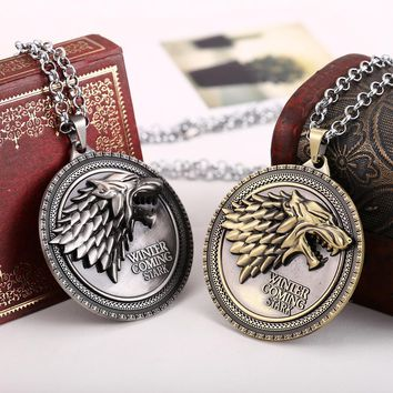 Game of Thrones Necklaces House Stark