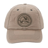 Thompson Twill Geese Hat in Khaki by Southern Marsh