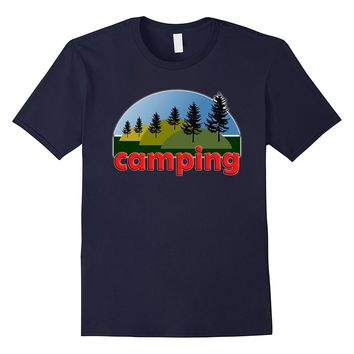 Camping Gear Equipment T-Shirt Summer Camp Supplies Shirt