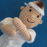 Taekwondo kid martial arts amigurumi doll toy boy crochet pattern pdf judo karate