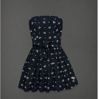 Abercrombie & Fitch Lucy Dress Bows and Polka Dots Small NWT