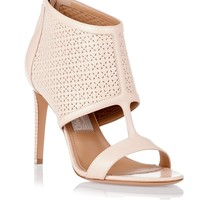 Pacella nude bootie Salvatore Ferragamo - Designer Shoes at ShopSavannahs.com