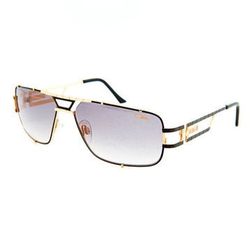 Cazal 9034 Black Gold Sunglasses