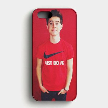 Nash Grier And Cameron Dallas Cover iPhone SE Case
