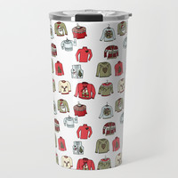 Ugly Sweaters Travel Mug by doucettedesigns