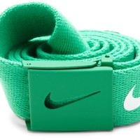 Nike Mens Tech Essential Belt, Stadium Green, One Size