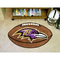 "Baltimore Ravens NFL ""Football"" Floor Mat (22""x35"")"