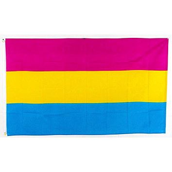 Hanging 90*150cm Omnisexual LGBT pride pansexual Flag For Decoration
