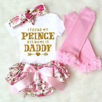 Fashion baby girl clothes Brand baby romper 4pcs clothes set for girls summer baby clothing set  newborn baby girls clothing set