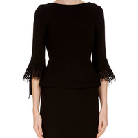 Roland Mouret Fringed Wool Pencil Skirt and Matching Items