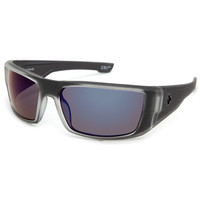 Spy Black Ice Collection Dirk Sunglasses Black Ice Grey/Purple Spectra One Size For Men 19672711501