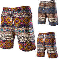 2016 New Swimming Shorts For Men Fashion Print Beach Shorts Casual Mens Boardshorts Bermuda Surf Shorts 8862