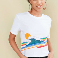 Project Social T Retro Wave Tee - Urban Outfitters