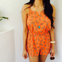 Crazy for pineapple romper from shopoceansoul