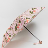 Ted Baker Compact Umbrella in Peach Blossom Print at asos.com