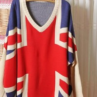 Vintage Loose flag sweater from Fanewant