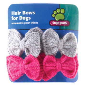 Top Paw™ Winter Sweater Bows - Accessories - Clothing & Accessories - PetSmart