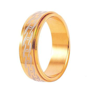 DI-45 classic Big simple ring, luxurious elegance lady wedding ring, Valentine's Day Jewelry best gift.