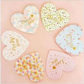 VONC1Y DIY Cute Kawaii Paper Postcards Flower Hearts Greeting Cards For Message Kids Stationery Gift School Supplies Free shipping 666