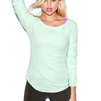 Solid Thermal Tee - PINK - Victoria's Secret