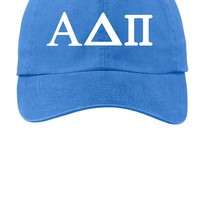 ADPi // Alpha Delta Pi // Choose Your Colors // Sorority Cap