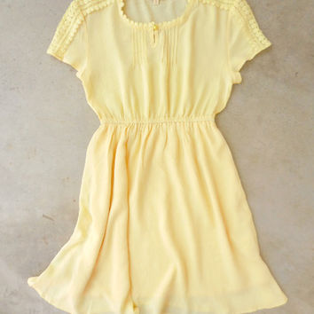 Chasing Sunshine Dress [6935] - $42.00 : Feminine, Bohemian, & Vintage Inspired Clothing at Affordable Prices, deloom