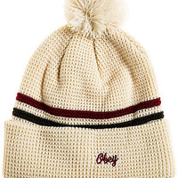 The Norfolk Beanie in Cream