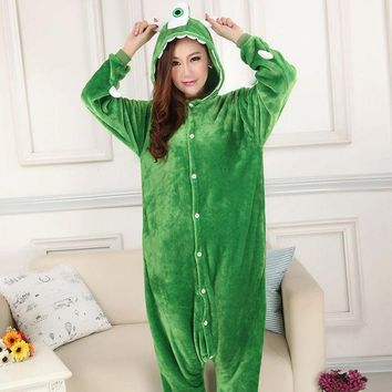 PEAPIX3 Couple Sleepwear Animal Cartoons Unisex Set Halloween Costume [9220978372]