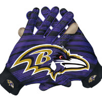 Nike Stadium (NFL Ravens) Men's Gloves