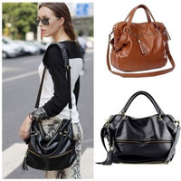Lady Handbag Shoulder Bag Tote Purse PU Leather  Messenger Hobo = 1697434692
