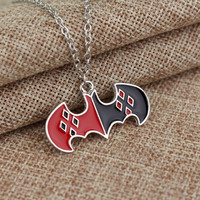 Batman Harley Quinn Necklace