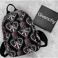 Fendi & Burberry & Givenchy & Dior & Champion & Versace Tide brand men's and women's large-capacity sports and leisure backpack 6#