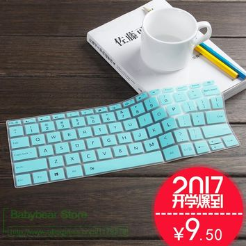 2017 New Silicone Keyboard Protector Cover Skin for Xiaomi Air 13/13.3 Xiao Mi Notebook Air 13 13.3 inch