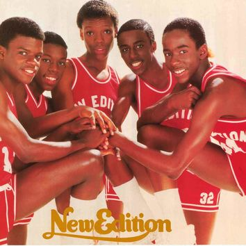 New Edition 1985 Group Portrait Poster 22x34