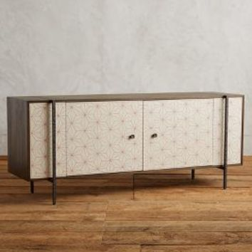 Tracey Boyd Boro Star Console in Cream Size: One Size House & Home