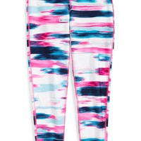 Girl's Nike 'Legend' Print Tight Fit Training Pants,