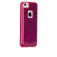 Case-Mate iPhone 5C Glimmer Barely There Case - Retail Packaging - Pink