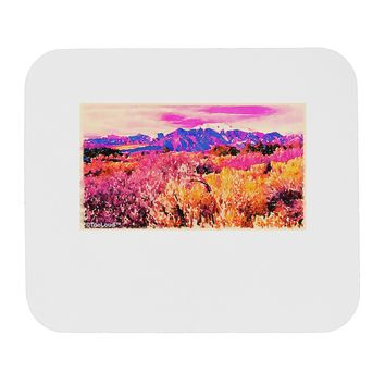 Colorful Colorado Mountains Mousepad by TooLoud
