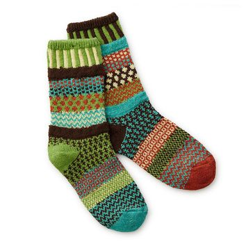 September Sun Mismatched Socks | patterned socks