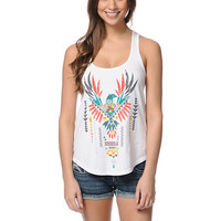 Empyre Girls Take Wing White Racerback Tank Top