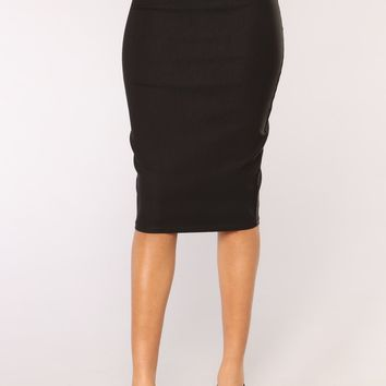 First Impressions Skirt - Black