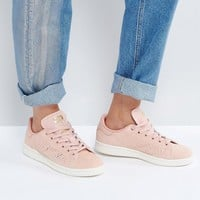 adidas Originals Haze Coral Stan Smith Trainers at asos.com