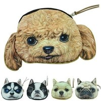 Ladies Cute Dog Purse