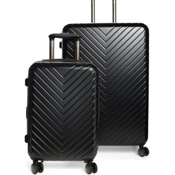 Nordstrom 2-Piece Chevron Spinner Luggage Set | Nordstrom