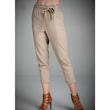 Linen Pants [HighWaisted]
