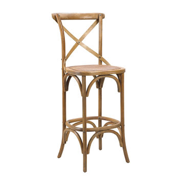 French Heritage, Bosquet Oak Counter Stool, Natural, Bar & Counter Stools