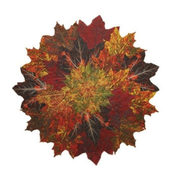 Fall Maple Leaf Placemat S/2