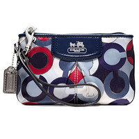 COACH MADISON GRAPHIC OP ART SMALL WRISTLET - COACH - Handbags & Accessories - Macy's