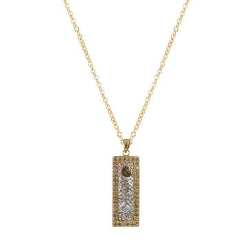 Tat2 Designs Gold Plated Daksia Pendant Necklace