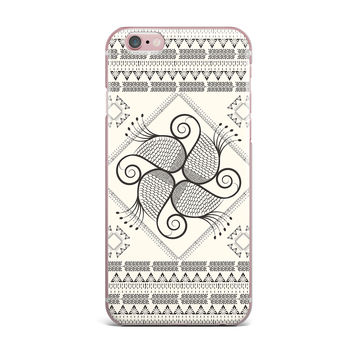 "Famenxt ""Paisley Into The Dream"" Beige Pattern iPhone Case"